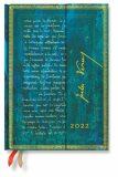 Paperblanks Diář 12měs 2022 Verne Twenty Thousand Leagues Midi VSO - Hartley & Marks