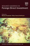 Research Handbook on Foreign Direct Investment - Krajewski Markus