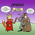 Opráski - nástěnný kalendář 2022 - jaz