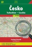 ČESKO EVROPA 1:150 000, 1:4 000 000 - Freytag & Berndt