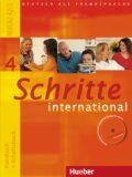 Schritte international 4: Kursbuch + Arbeitsbuch mit Audio-CD zum Arbeitsbuch und interaktiven Übungen - Hilpert Silke
