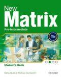 NEW MATRIX PRE-INTERMEDIATE STUDENTS BOOK - OXFORD