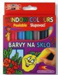 Barvy na sklo 7 ks 9738 -