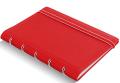 Filofax Zápisník  A7 - červený - Filofax