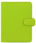 Filofax Diář A7 - Saffiano 2020, limetkový - Filofax