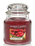 Svíčka Yankee Candle Classic - Black Cherry (střední) -