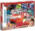 3D puzzle Cars 2 - 104 dílků  -