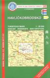 KČT 46 Havlíčkobrodsko 1:50 000 - Klub českých turistů