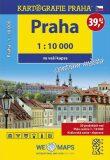Praha - 1:10 000 ve vaší kapse centrum města - Kartografie PRAHA
