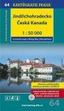 1: 50T (64)-Jindřichohradecko,Česká Kanada (turistická mapa) - Kartografie PRAHA