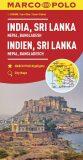 Indie,Nepál/mapa 1:2,5M MD(ZoomSystem) - Marco Polo
