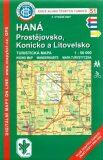 KČT 51 Haná, Prostějovsko 1:50 000 - Klub českých turistů