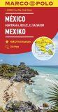 Mexiko, Guatemala. Belize, El Salvador  1:2,5 M - Marco Polo