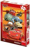 Puzzle Cars na poušti - Disney Pixar