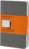Moleskine - Notesy 3 ks - linkované, světle šedé S - Moleskine