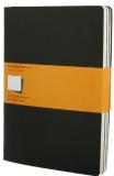 Moleskine - Notes 3 ks - linkované, černé XL - Moleskine