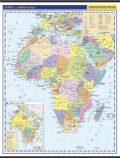 Afrika - školní nástěnná politická nástěnná mapa,1:10 mil./96x126,5 cm - neuveden