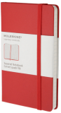 Moleskine  - zápisník - čtverečkovaný, červený S - Moleskine