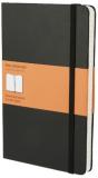 Moleskine - zápisník - linkovaný, černý L  - Moleskine
