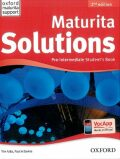 Maturita Solutions 2nd Edition Pre-Intermediate Student´s Book Czech Edition - Tim Falla, Paul A. Davies