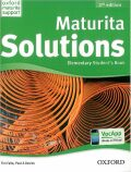 Maturita Solutions 2nd Edition Elementary Student´s Book CZEch Edition - Tim Falla, Paul A. Davies