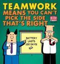 Teamwork Means You Can´t Pick the Side That´s Right - Scott Adams