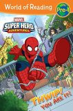 World of Reading Super Hero Adventures: Thwip! You Are It!: Level Pre-1 - West Alexandra