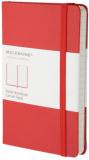 Moleskine - zápisník - linkovaný, červený S - Moleskine
