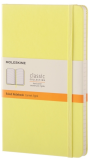 Moleskine - zápisník - linkovaný, žlutý L - Moleskine