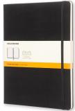 Moleskine - zápisník - linkovaný, černý XL  - Moleskine