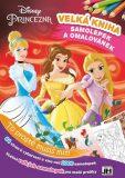 Velká kniha omalovánek a samolepek Disney Princezna - Kolektiv