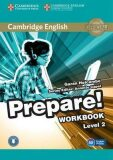 Prepare 2/A2 Workbook with Audio - Garan Holcombe