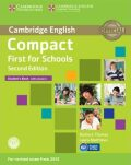 Compact First for Schools Student´s Book with Answers with CD-ROM - Barbara Thomas