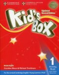 Kid´s Box 1 Activity Book with Online Resources British English,Updated 2nd Edition - Caroline Nixon