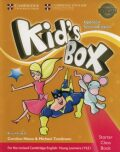 Kid´s Box Starter Class Book with CD-ROM British English,Updated 2nd Edition - Caroline Nixon