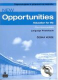 New Opportunities Pre-Intermediate Language Powerbook Pack CZ Edition - Patricia Reilly