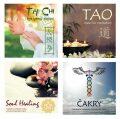 Komplet relaxační hudby - 4 CD (Tai Chi, Tao meditation, Soul  healing, Čakry) - KM Records