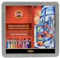 Koh-i-noor pastelky umělecké POLYCOLOR kreslířská sada 48 ks v plechové krabičce - KOH-I-NOOR HARDTMUTH