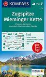 Zugspitze, Mieminger Kette  25  NKOM - KOMPASS-Karten GmbH