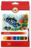 Akvarelové pastelky Aquarell 36 ks 3719  - KOH-I-NOOR
