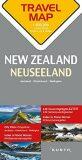 Nový Zéland  1:800T  TravelMap KUNTH - Kunth-verlag
