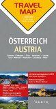 Rakousko  1:300 T  TravelMap KUNTH - Kunth-verlag