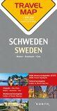 Švédsko  1:800T  TravelMap KUNTH - Kunth-verlag