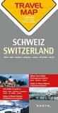 Švýcarsko  1:200T  TravelMap KUNTH - Kunth-verlag