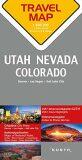 Utah / Nevada / Colorado  1:800T  TravelMap KUNTH - Kunth-verlag