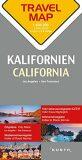 Kalifornie  1:800T  TravelMap KUNTH - neuveden