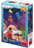 Veselá Dory - puzzle neon 100 XLdílků - Disney Walt