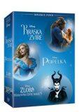 Kráska a zvíře + Popelka + Zloba - Královna černé magie 3DVD - neuveden
