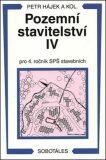 Pozemní stavitelství IV pro 4.r. SPŠ stavební - Václav Hájek