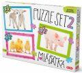 Puzzle SET 2 - Mláďata - Efkoart